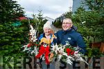 Samantha and Padraig Sugrue of Belfield Christmas trees