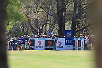 Stewart Cink (USA) on the 11th tee during Round 1 of the Australian PGA Championship at  RACV Royal Pines Resort, Gold Coast, Queensland, Australia. 19/12/2019.<br /> Picture Thos Caffrey / Golffile.ie<br /> <br /> All photo usage must carry mandatory copyright credit (© Golffile | Thos Caffrey)