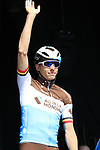 Oliver Naesen (BEL) AG2R La Mondiale at sign on before the 2019 E3 Harelbeke Binck Bank Classic 2019 running 203.9km from Harelbeke to Harelbeke, Belgium. 29th March 2019.<br /> Picture: Eoin Clarke | Cyclefile<br /> <br /> All photos usage must carry mandatory copyright credit (© Cyclefile | Eoin Clarke)