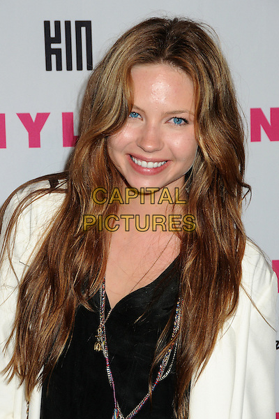 DAVEIGH CHASE.Nylon Magazine's Young Hollywood Party held at the Roosevelt Hotel's Tropicana Bar, Hollywood, California, USA..May 12th, 2010.headshot portrait black white necklace.CAP/ADM/BP.©Byron Purvis/AdMedia/Capital Pictures.