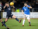 Dundee v St Johnstone&hellip;29.12.18&hellip;   Dens Park    SPFL<br />Tony Watt curls a shot wide<br />Picture by Graeme Hart. <br />Copyright Perthshire Picture Agency<br />Tel: 01738 623350  Mobile: 07990 594431