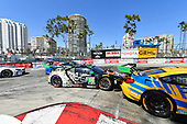 2017 IMSA WeatherTech SportsCar Championship<br /> BUBBA burger Sports Car Grand Prix at Long Beach<br /> Streets of Long Beach, CA USA<br /> Saturday 8 April 2017<br /> 86, Acura, Acura NSX, GTD, Oswaldo Negri Jr., Jeff Segal<br /> World Copyright: Richard Dole/LAT Images<br /> ref: Digital Image RD_LB17_338