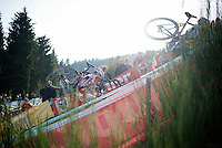 up &quot;Le Mur&quot; de Francorchamps (50% gradient!)<br /> <br /> Superprestige Francorchamps 2014