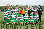 The Killarney Celtic team that played Killorglin in the FAI National cup in Killarney on Saturday