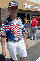 At Wal-Mart in Green Bay, WI on Memorial Day in 2011.