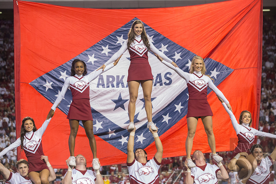 HAWGS ILLUSTRATED JASON IVESTER<br /> Arkansas vs Alabama football on Saturday, Oct. 8, 2016, at Donald W. Reynolds Razorback Stadium in Fayetteville.