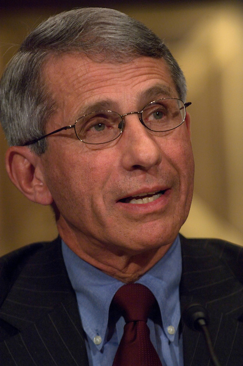 WASHINGTON, DC - April 29: Anthony Fauci, director of the National Institute for Allergy and Infectious Diseases at the National Institutes of Health, during the Senate Health, Education, Labor and Pensions  hearing on the swine flu. (Photo by Scott J. Ferrell/Congressional Quarterly)