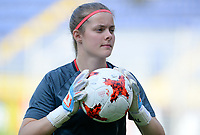 20170719 - BREDA , NETHERLANDS :  Belgian Diede Lemey pictured during Matchday -1 training session of the Belgian national women's soccer team Red Flames on the pitch of NAC BREDA , on wednesday 19 July 2017 in stadion Rat Verlegh in Breda . The Red Flames are at the Women's European Championship 2017 in the Netherlands. PHOTO SPORTPIX.BE | DAVID CATRY