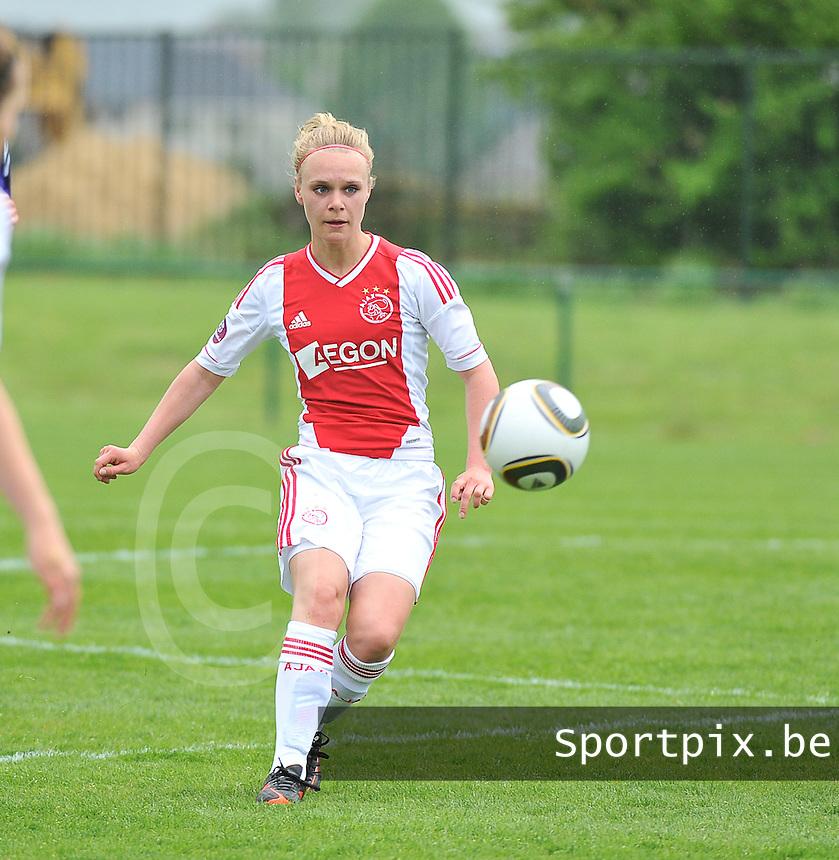 RSC Anderlecht Dames - Ajax Amsterdam : Vesna Veltrop.foto DAVID CATRY / Nikonpro.be