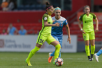 Bridgeview, IL - Sunday June 04, 2017: Nahomi Kawasumi during a regular season National Women's Soccer League (NWSL) match between the Chicago Red Stars and the Seattle Reign FC at Toyota Park. The Red Stars won 1-0.