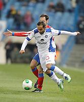 Getafe's Diego Castro during King's Cup match. December 12, 2012. (ALTERPHOTOS/Alvaro Hernandez) /NortePhoto