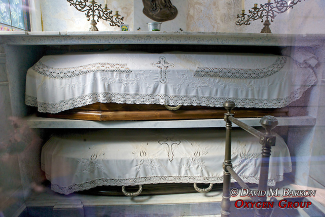 Coffins Inside Family Tombs, La Recoleta Cemetery