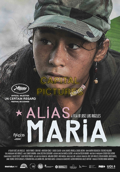 POSTER ART<br /> in Alias Maria (2015) <br /> *Filmstill - Editorial Use Only*<br /> CAP/NFS<br /> Image supplied by Capital Pictures