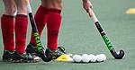 UTRECHT -  inspelen voor  de hockey hoofdklasse competitiewedstrijd dames:  Kampong-Laren . COPYRIGHT KOEN SUYK