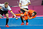 London Olympics 11/08/2012.Mens Hockey Gold medal Match.Netherlands v Germany.Rogier Hofman...Photo: Grant Treeby