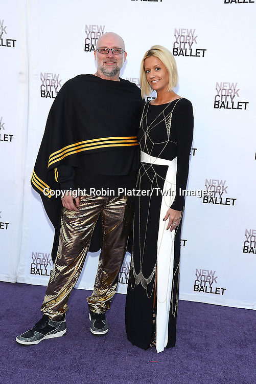 Jason Schell and Tre Miller Rodriquez  attends the New York City Ballet's 3rd Annual  Fall Fashion Gala on September 23, 2014 at David Koch Theatre in Lincoln Center in New York City. <br /> <br /> photo by Robin Platzer/Twin Images<br />  <br /> phone number 212-935-0770
