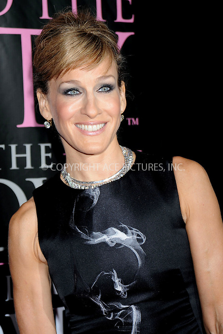 WWW.ACEPIXS.COM . . . . .....September 18, 2008. New York City.....Actress Sarah Jessica Parker attends the 'Sex and the City' DVD Launch Party held at the New York Public Library on September 19, 2008 in New York City...  ....Please byline: Kristin Callahan - ACEPIXS.COM..... *** ***..Ace Pictures, Inc:  ..Philip Vaughan (646) 769 0430..e-mail: info@acepixs.com..web: http://www.acepixs.com