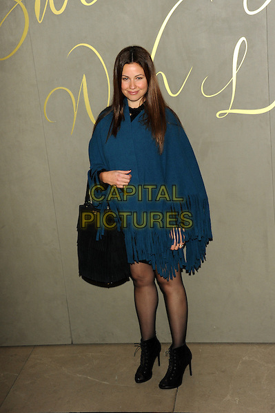 LONDON, ENGLAND - NOVEMBER 3: Raya Abirached attends the Burberry Festive Film Premiere at Burberry Regent Street on November 3, 2015 in London, England.<br /> CAP/CJ<br /> &copy;CJ/Capital Pictures