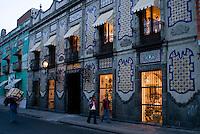 Uriarte, Talavera china factory. Puebla