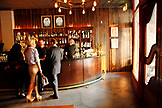 USA, California, San Francisco,  the bar at Txoko restaurant in North Beach