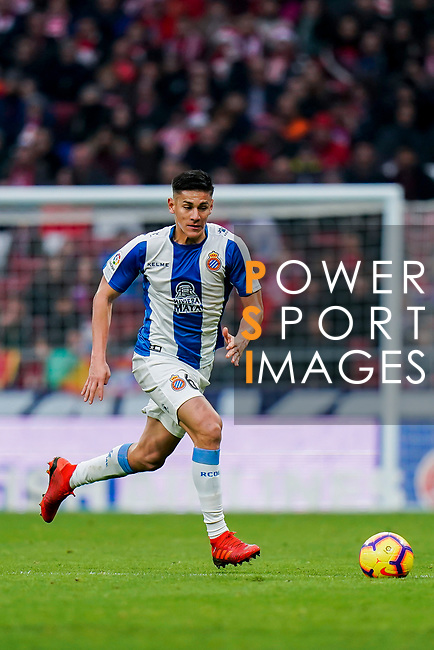 Oscar Esau Duarte Gaitan, O Duarte, of RCD Espanyol in action during the La Liga 2018-19 match between Atletico de Madrid and RCD Espanyol at Wanda Metropolitano on December 22 2018 in Madrid, Spain. Photo by Diego Souto / Power Sport Images