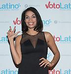 WASHINGTON, DC - March 4:  Rosario Dawson attends Voto Latino's 10 year anniversary at Hamilton Live on March 4, 2015 in Washington, D.C. Photo Credit: Morris Melvin / Retna Ltd.