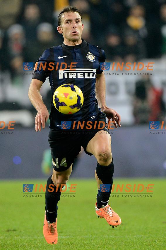 Hugo Campagnaro Inter<br /> Torino 02-02-2014 Juventus Stadium - Football 2013/2014 Serie A. Juventus - Inter Foto Giuseppe Celeste / Insidefoto