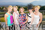 Rose O'Sullivan, Tralee Jenevieve Keane Ballyheigue, Caroline Matthews of Caroline Atelier Designs winner of Kerry Fashion Designer of the year, Rachel Gleasure, Tralee and Marlon O'Sullivan Tralee at the Kerry Fashion Weekend Fashion Awards Lunch at the Aghadoe Heights Hotel, Killarney on Sunday.