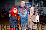 Shiela Duggan, Mike Hurley and Eddie Bailey back to the 80's as they support the 80's at the Disco fundraiser for Epilepsy Ireland in the Austin Stacks Club house on Sunday night.