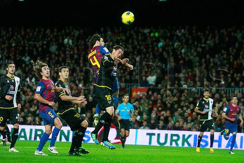 "Cesc Fabregas (Barcelona), DECEMBER 3, 2011 - Football / Soccer : Spanish ""Liga Espanola"" match between FC Barcelona 5-0 Levante UD at Camp Nou stadium in Barcelona, Spain."