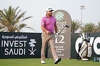 Graeme McDowell (NIR) on the 12th during Round 2 of the Saudi International at the Royal Greens Golf and Country Club, King Abdullah Economic City, Saudi Arabia. 31/01/2020<br /> Picture: Golffile | Thos Caffrey<br /> <br /> <br /> All photo usage must carry mandatory copyright credit (© Golffile | Thos Caffrey)