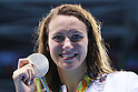 Jazz Carlin (GBR), <br /> AUGUST 12, 2016 - Swimming : <br /> Women's 800m Freestyle Medal Ceremony <br /> at Olympic Aquatics Stadium <br /> during the Rio 2016 Olympic Games in Rio de Janeiro, Brazil. <br /> (Photo by Yohei Osada/AFLO SPORT)