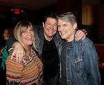 Kim Zimmer & Michael O'Leary & Jay Hammer - 11th Annual Daytime Stars & Strikes Event for Autism - 2015 on April 19, 2015 hosted by Guiding Light's Jerry ver Dorn (& OLTL) and Liz Keifer at Bowlmor Lanes Times Square, New York City, New York. (Photos by Sue Coflin/Max Photos)