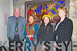 Stained Glass Exhibition : Attending the opening of a stained glass exhibition at St' John's Arts Centre, Listowel on Saturday night last were Kieran Coleman, Tralee, Betty Walsh & Anne Dillon, Listowel & Margaret Mason, Tralee.