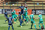 11.01.2019, Bidvest Stadion, Braampark, Johannesburg, RSA, FSP, SV Werder Bremen (GER) vs Bidvest Wits FC (ZA)<br /> <br /> im Bild / picture shows <br /> Abwehr Sebastian Langkamp (Werder Bremen #15)<br /> Joshua Sargent (Werder Bremen #19)<br /> Ludwig Augustinsson (Werder Bremen #05)<br /> <br /> Foto © nordphoto / Kokenge