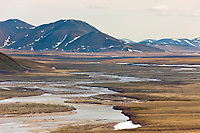 Nigu river, Brooks Range, National Petroleum Reserve, Alaska.