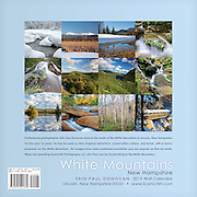 Back cover of the 2015 White Mountains, New Hampshire calendar by ScenicNH Photography LLC | Erin Paul Donovan. It can be purchased here: http://bit.ly/1audUBp