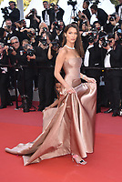 CANNES, FRANCE - MAY 11: Model Bella Hadid waves as she attends the screening of 'Ash Is The Purest White (Jiang Hu Er Nv)' during the 71st annual Cannes Film Festival at Palais des Festivals on May 11, 2018 in Cannes, France. <br /> CAP/PL<br /> &copy;Phil Loftus/Capital Pictures