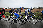 The peloton including Julian Alaphilippe (FRA) Deceuninck-Quick Step during Stage 3 of the 78th edition of Paris-Nice 2020, running 212.5km from Chalette-sur-Loing to La Chatre, France. 10th March 2020.<br /> Picture: ASO/Fabien Boukla | Cyclefile<br /> All photos usage must carry mandatory copyright credit (© Cyclefile | ASO/Fabien Boukla)