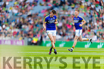 Sean O'Shea Kerry players before their clash with Mayo in the All Ireland Semi Final Replay in Croke Park on Saturday.