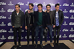Dvicio music band poses during Cadena Dial music awards presentation in Madrid, Spain. February 05, 2015. (ALTERPHOTOS/Victor Blanco)