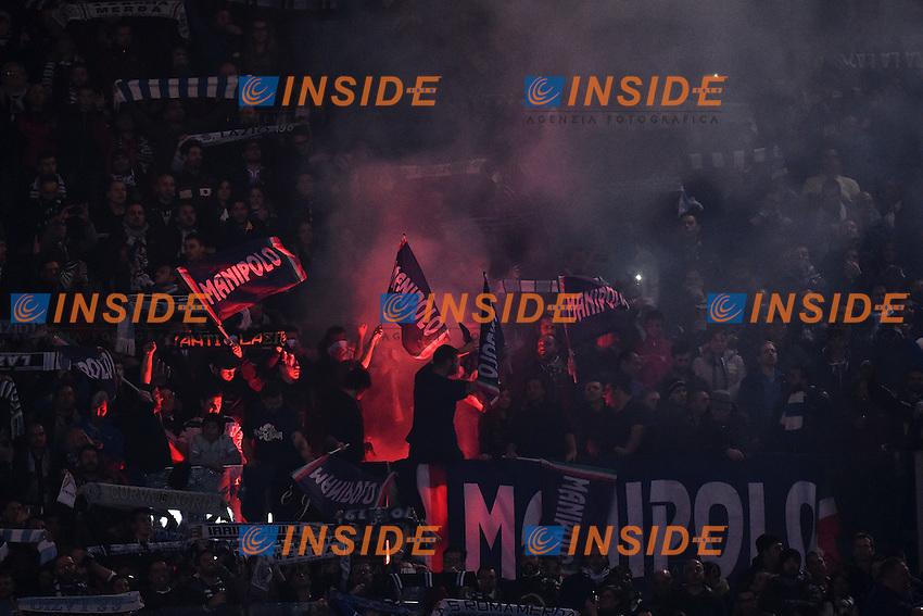 Tifosi Lazio Supporters <br /> Roma 22-11-2014 Stadio Olimpico, Football Calcio Serie A . Lazio - Juventus. Foto Andrea Staccioli / Insidefoto