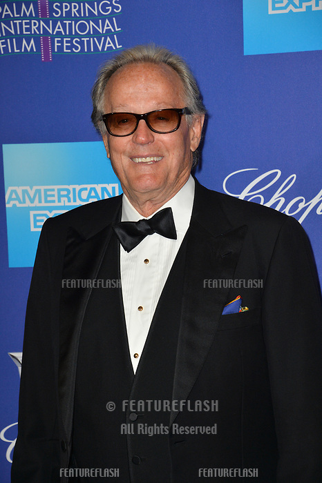 Peter Fonda at the 2018 Palm Springs Film Festival Awards at Palm Springs Convention Center, USA 02 Jan. 2018<br /> Picture: Paul Smith/Featureflash/SilverHub 0208 004 5359 sales@silverhubmedia.com