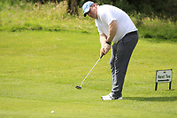 Ian Kelly (Athenry) during the final of the AIG Jimmy Bruen Shield Connacht Final, in Galway Bay Golf Club, Galway, Ireland. 12/08/2017<br /> Picture: Fran Caffrey / Golffile