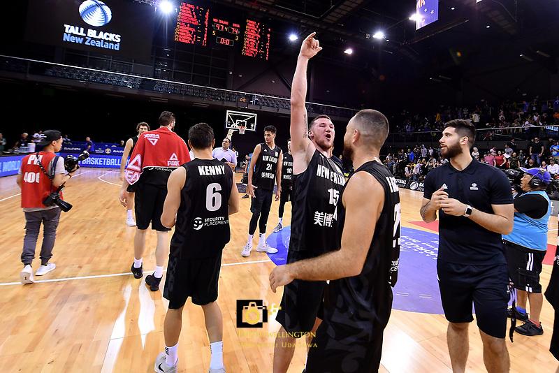 New Zealand Tall Blacks&rsquo; Tom Vodanovich, FIBA World Cup Basketball Qualifier - NZ Tall Blacks v Syria at TSB Bank Arena, Wellington, New Zealand on Sunday 2 2018. <br /> Photo by Masanori Udagawa. <br /> www.photowellington.photoshelter.com
