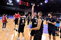 New Zealand Tall Blacks' Tom Vodanovich, FIBA World Cup Basketball Qualifier - NZ Tall Blacks v Syria at TSB Bank Arena, Wellington, New Zealand on Sunday 2 2018. <br /> Photo by Masanori Udagawa. <br /> www.photowellington.photoshelter.com
