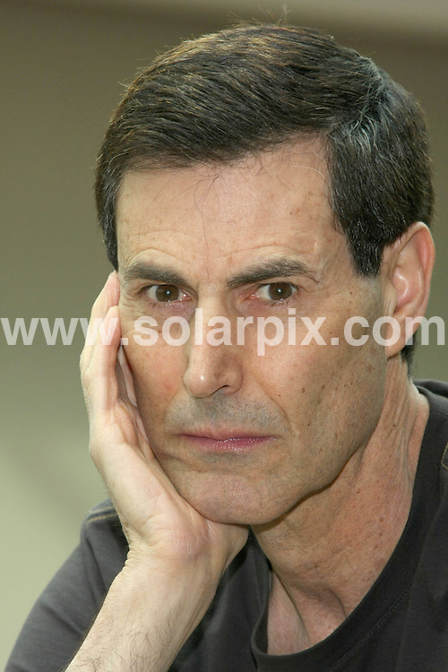 **ALL ROUND PICTURES FROM SOLARPIX.COM**.**SYNDICATION RIGHTS FOR UK AND SPAIN ONLY**.Uri Geller presents his new movie Staya Erusa on DVD in Hamburg in Germany..JOB REF:6140-CPR/BUG        DATE:14_04_08.**MUST CREDIT SOLARPIX.COM OR DOUBLE FEE WILL BE CHARGED* *UNDER NO CIRCUMSTANCES IS THIS IMAGE TO BE REPRODUCED FOR ANY ONLINE EDITION WITHOUT PRIOR PERMISSION*
