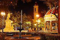 Plaza de Armas in Cienfuegos, Cuba
