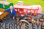 MODELS: John O'Regan from Ballyheigue who designs and makes models of steam engines, threshers and other farm machinery.