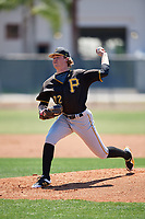 Pittsburgh Pirates pitcher Braeden Ogle (72) during a Minor League Spring Training game against the Philadelphia Phillies on March 23, 2018 at the Carpenter Complex in Clearwater, Florida.  (Mike Janes/Four Seam Images)